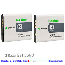Kastar Replacement Battery for Sony NP-BK1 BC-CSK & Sony Cyber-shot DSC-W370