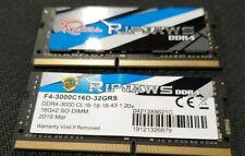 G.SKILL Ripjaws Series 32GB (2 x 16GB) F4-3000C16D-32GRS