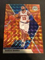 2019-20 MARCUS MORRIS Mosaic Reactive ORANGE Prizm  SP  #71