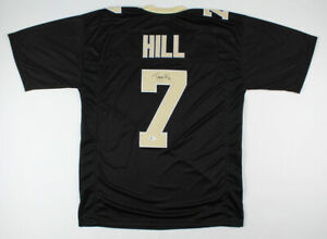 Taysom Hill Signed New Orleans Saints Jersey (Beckett COA) Drew Brees Back Up QB