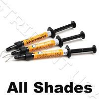 Prime Dent Flowable Light Cure Dental Composite Syringe Kit All Shades USA FDA
