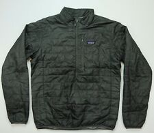 Rare PATAGONIA Spell Out Nano Puff Pullover Packable Jacket 2000s Retro Size M