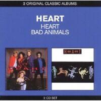HEART - CLASSIC ALBUMS (2IN1 HEART & BAD ANIMALS) 2 CD NEUWARECLASSIC ROCK & POP