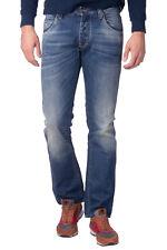 ARMANI JEANS Blue Jeans Size W32 L34 Distressed Faded Worn Look Slim RRP €229