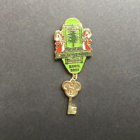 DLR - Disney's Grand Californian Hotel - Room Key Chip & Dale Disney Pin 74712