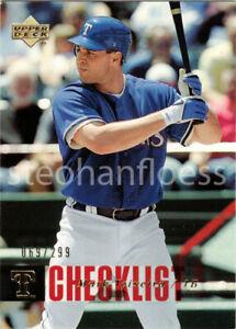 2006 Upper Deck Gold #892 Mark Teixeira CL 069/299 Texas Rangers