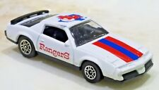 VINTAGE CORGI 1983 Pontiac Firebird SE Rangers Baseball Collector Car White 1:64