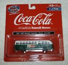 Classic Metal Works 32317 GMC TDH-3610 Transit Bus Chicago Coca-Cola HO Scale