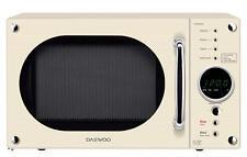Daewoo Retro Design 23L Microwave 800w In Cream - KOR8A9RCR