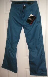 Men's Ski Pants Oakley Brand Fleet Shell Pant Morroccan Blue New With Tags NWT