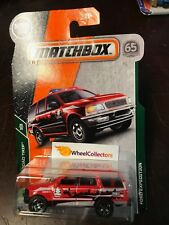 Ford Expedition * RED * 2018 Matchbox Case C * NG8