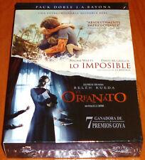 EL ORFANATO + LO IMPOSIBLE / THE ORPHANAGE + THE IMPOSSIBLE - J. A. Ballona Prec