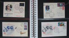 S2007) Aerospace Soyuz Soyuz Mir Russia 32 Flown Space Covers Some Autographs