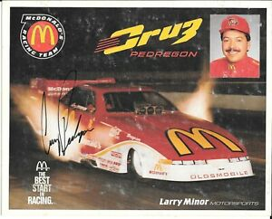 CRUZ PEDREGON  NHRA  Autographed / Signed Hero Card  FUNNY CAR 1994