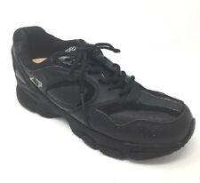 Men's Size US 9.5 Wide Apex X801  Therapeutic Diabetic Orthotic black Shoes