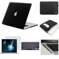 """Matte Hard Case/Screen/Keyboard Cover For MacBook Pro 13 15 Air 11 13"""" 2010-2019"""