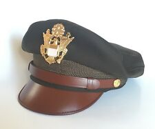 Reproduction US Army Air Force Bancroft Flighter Crusher Cap Hat USA Made 7-1/2