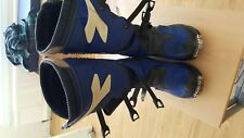 Diadora MotorCross Trials Boots Blue/white    Size 43  /UK 9