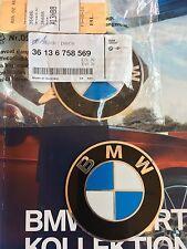 Original BMW Emblem Neu Alu selbstklebend  70mm Logo Felgen
