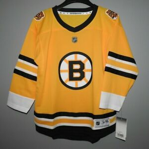 NHL Boston Bruins Special Edition Hockey Jersey New Youth Sizes MSRP $65