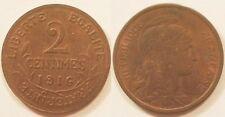 2 Centimes Dupuis 1916, SUP !!