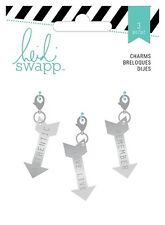 Heidi Swapp Wanderlust Metal Charms Arrows #894