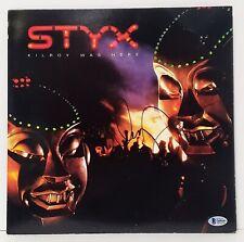 """DENNIS DEYOUNG Signed Vinyl LP Styx """"KILROY WAS HERE"""" Beckett BAS #Q696949"""