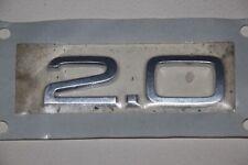 Audi A4 8E B6, B7 Schriftzug 2.0 chrom NEU, original Emblem, Logo 8E0 853 743 C