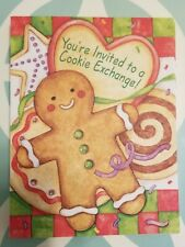 Current Inc Christmas Cookie Exchange Invitations