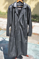 Wilsons Leather 3M Thinsulate Thermal Insulation Trenchcoat Size M Medium