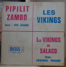 LES VIKINGS/FRED AUCAGOS/EMMMANUEL TOUSSAINT FRENCH EP DISQUES DEBS