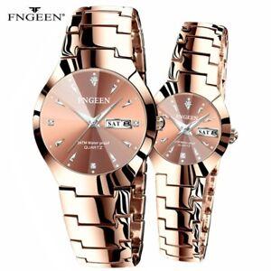 Couple Watches for Lovers Quartz Wristwatch Fashion Men Watch for Women Watches