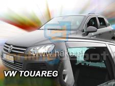 Wind Deflectors VW TOUAREG 5-doors 2010-2017 4-pc HEKO Tinted