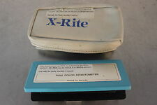 XRITE 333 PORTABLE DUAL COLOR SENSITOMETER BATTERY OPERATED #2