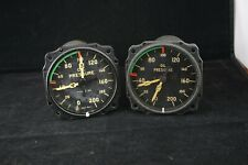 New ListingTwo Vintage Wwii Aircraft Oil Pressure gauges from 4-engined Us Aircraft
