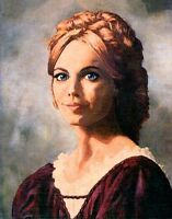 ANGELIQUE PORTRAIT ON CANVAS (DARK SHADOWS)