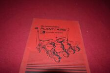 White Tractor Planter Introduction Manual BVPA