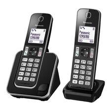 "TELEFONO PANASONIC KXTGD312SPB NEGRO DECT DUO M.LIBRES 1,8"""