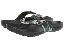 Women Crocs Kadee II Printed Flip Sandal 206097-97J Floral Black 100% Authentic