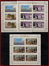 COOK 1978 CAPTAIN COOK / HAWAII x3 M/S SC#480-82 MNH CV$30.00 (E15)