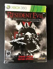 Resident Evil Operation Raccoon City Special Edition STEELBOOK (XBOX 360) NEW