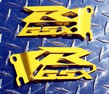 Suzuki GSXR Cut-Out Heel Guards / Plates GSX-R 600 750 1000 - Yellow