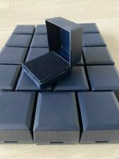 WHOLESALE JOBLOT 20 NAVY BLUE RING BOXES JEWELLERY GIFT BOXES HINGED PACKAGING