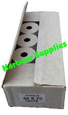 44X70 Thermal Till Rolls (20 Rolls) 44 x 70 44mmx70mm 44mm x 70mm