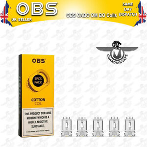 OBS CABO REPLACMENT OM BO 0.2ohm and OM CA 0.4ohm Coils