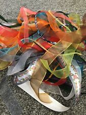 20 Pieces Of 1m Lengths Of Assorted Ribbon