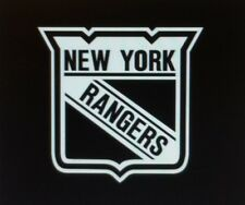 New York Rangers vinyl window decal