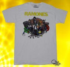 New The Ramones Men's Cartoon Band Vintage Classic  T-shirt