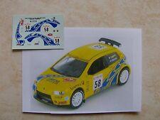 FIAT PUNTO SUPER 1600 RALLYE MONTE CARLO 2003 MARCO LIGATO DECALS