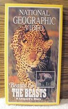 National Geographic Video,  BEAUTY & THE BEASTS, LEOPARD'S STORY - VHS